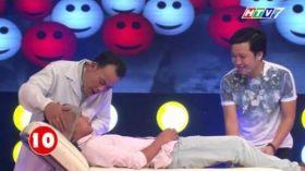 Cười Là Thua 2014 - Tập 1 - Trường Giang & Phương Bình đấu với Hiếu Hiền & Bạch Long