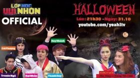 Lớp Học Vui Nhộn 48 | Happy Halloween | Hòa Minzy & Hoàng Yến Chibi | Fullshow