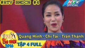 Bí Mật Đêm Chủ Nhật 2016 | Tập 4 Full Hd: Chủ toạ Ốc Thanh Vân