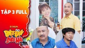 Biệt đội siêu hài | Tập 3 full: Hari Won, Tiến Luật thay nhau