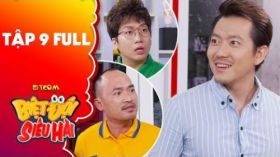 Biệt đội siêu hài | Tập 9 full: Tiến Luật, Phát La hiểu lầm giới tính Pompatama