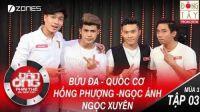 Đàn Ông Phải Thế Mùa 3 | Tập 3 Full HD: Việt Hương đề nghị đổi game vì Quốc Cơ