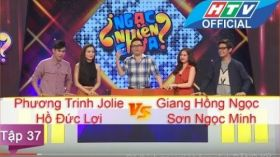 Ngạc Nhiên Chưa | Tập 37 | Phương Trinh - Đức Lợi vs Hồng Ngọc - Ngọc Minh | 15/6/2016