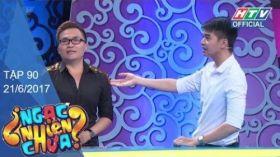 Ngạc Nhiên Chưa | Tập 90 Full | Kim Thủy Vs Hoàng Huy | 21/6/2017