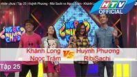 Ngạc Nhiên Chưa | Tập 25 | Huỳnh Phương - Ribi Sachi vs Ngọc Trâm - Khánh Long | 23/3/2016