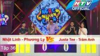 Ngạc Nhiên Chưa | Tập 36 | Phương Ly - Nhật Linh vs Justa Tee - Trâm Anh | 8/6/2016