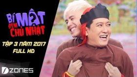 Bí Mật Đêm Chủ Nhật 2017 l Tập 3 Full HD | Trường Giang, Trịnh Thăng Bình